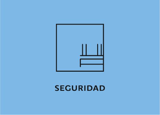 Ícono representativo de la seguridad del desarrollo departamental Blank, ubicado en Lomas de Angelópolis I, en Puebla, México.