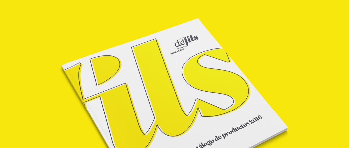 Brochure para la comunicación de los productos de Defils