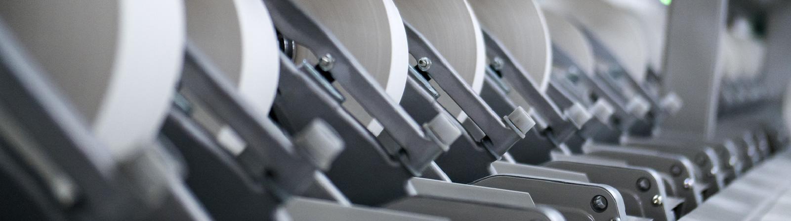 Zoom de las máquinas de hilo en Defils