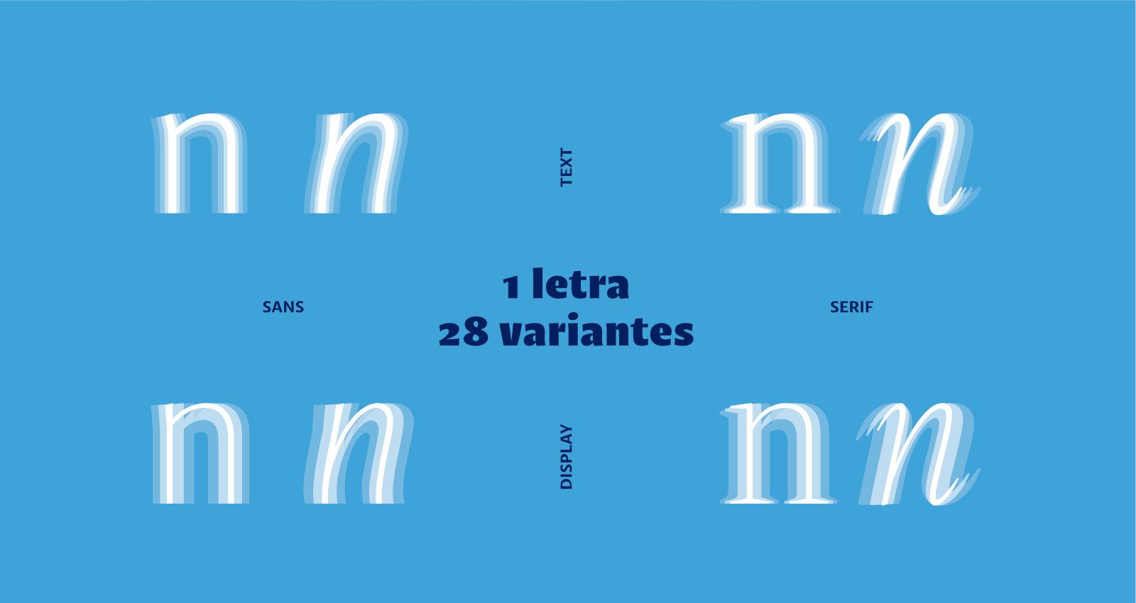 Variantes de la letra n