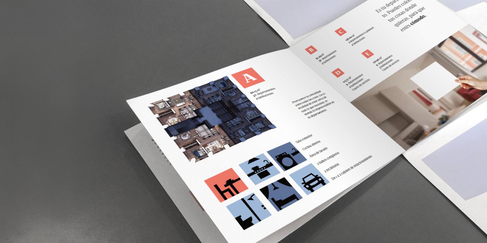 Pagina de brochure