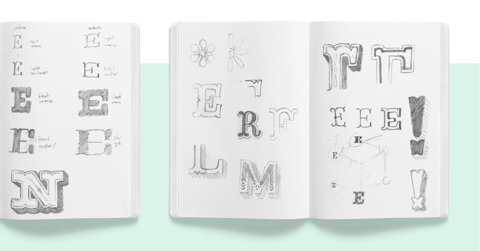 Cuaderno de bocetos derecho