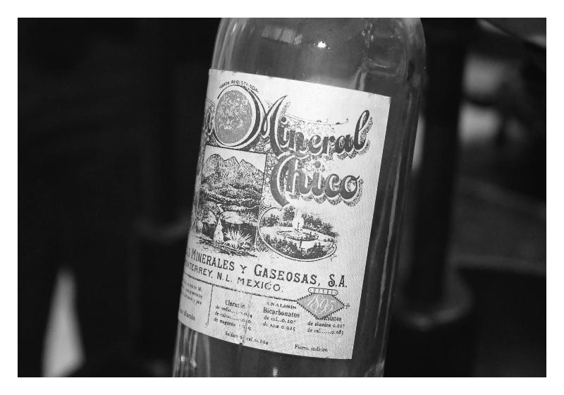 Historia. Botella
