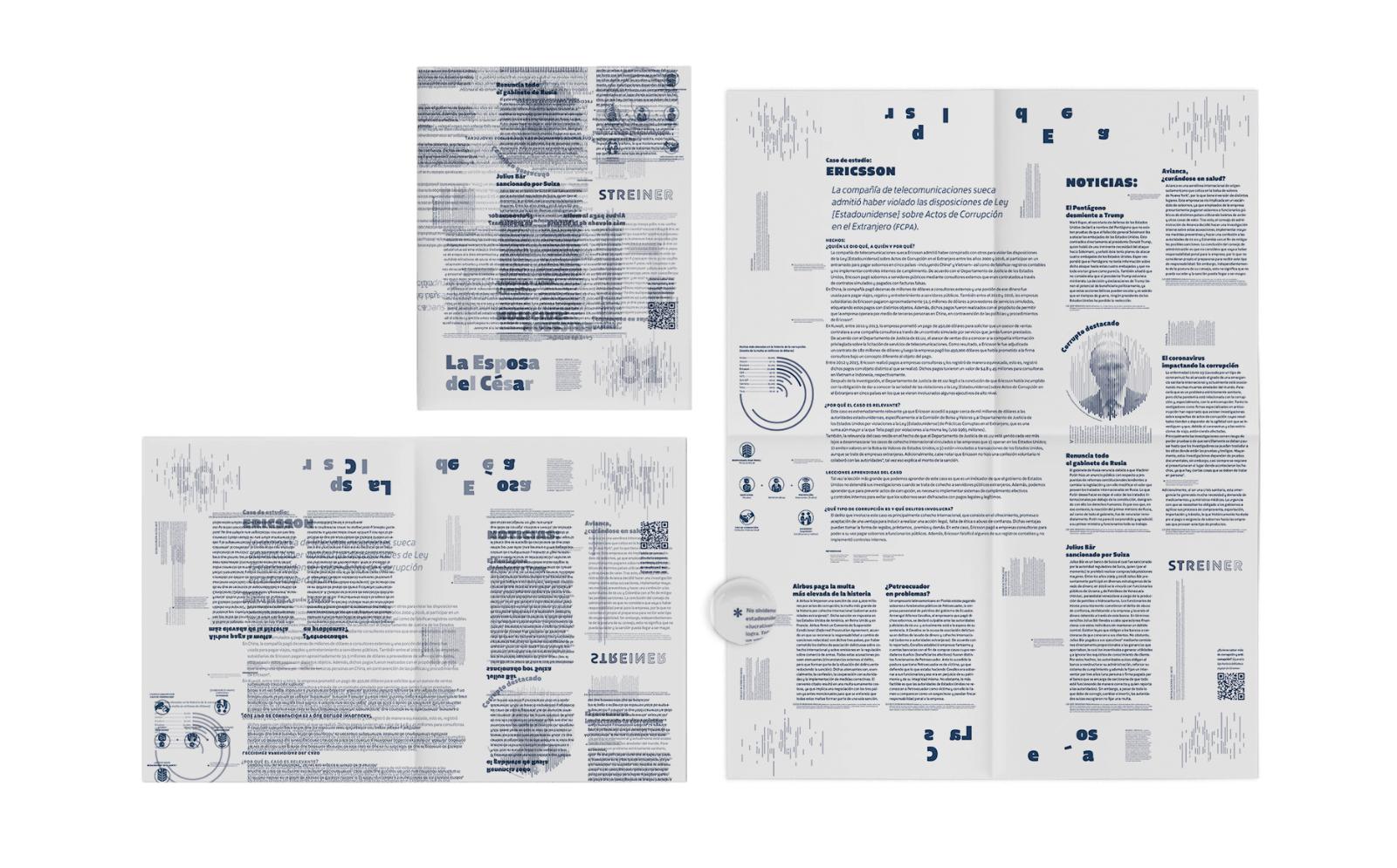Gaceta de anticorrupción en papel albanene