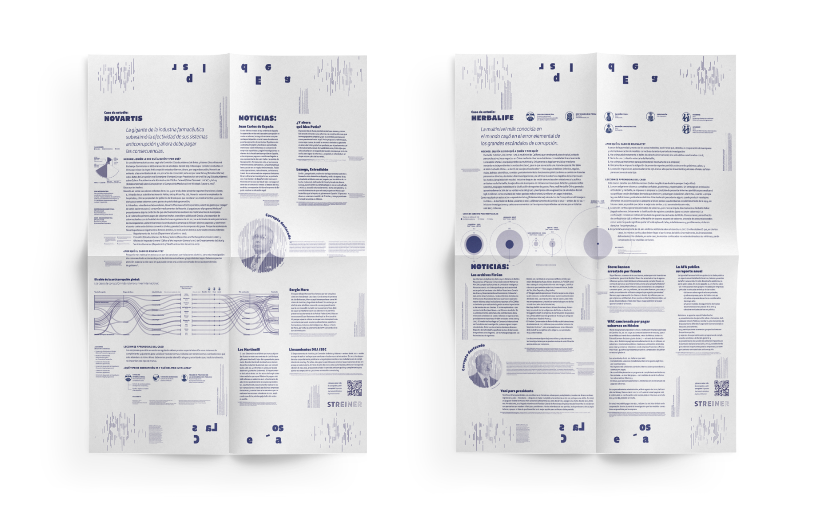 Gaceta 2 y 3 de anticorrupción en papel albanene